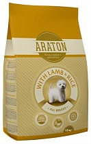 картинка ARATON dog adult lamb&rice 3 кг от магазина