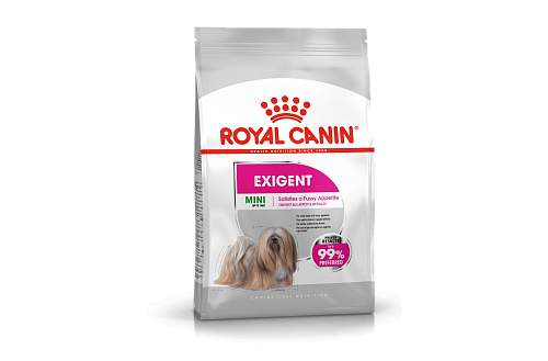 картинка Royal Canin MINI EXIGENT Сухой корм для привередливых собак 3 kg от магазина